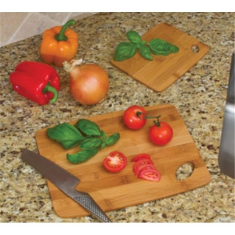 Bamboo Thin Cutting Boards 6 in. x 8 in. and 9 in. x 12 in.