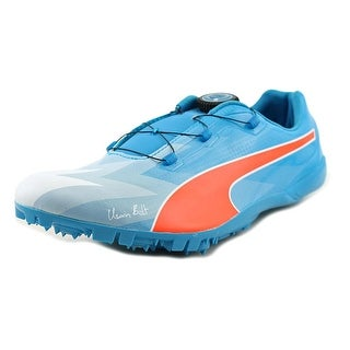 Puma Bolt evoSpeed Disc Women Round Toe Synthetic Blue Running Shoe