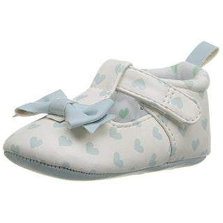 Rosie Pope Kids Footwear I Love Hearts Crib Shoes Graphic Infant Girl