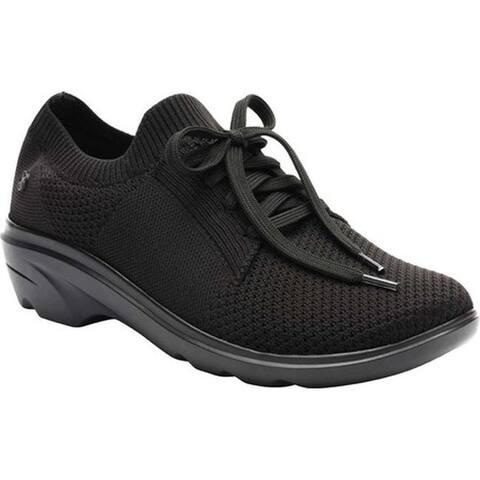 Klogs Women's Glide Sneaker Black/Black Knit