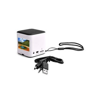 AGPTEK Mini Portable Wireless Bluetooth Speaker CSR 4.0 Chipset Built-in Mic Pocket Size for iPhone