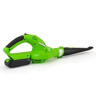 Electric Leaf Blower, Cordless Power Blower with Built-in 18V Rechargeable Battery