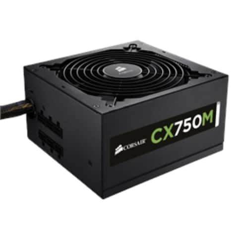 Corsair Power Supply CP-9020061-NA CX750M Retail - Pictured