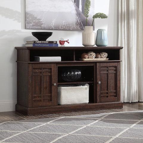 "BELLEZE 48"" Wood TV Stand Media Console Table Storage, Espresso - standard"