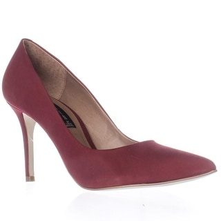 STEVEN by Steve Madden Shiela Classic Dress Pumps, Red