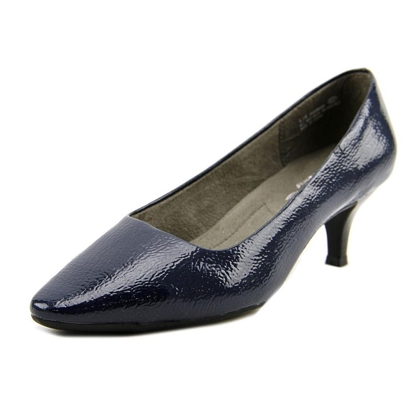 A2 By Aerosoles Foreward Women W Pointed Toe Synthetic Blue Heels