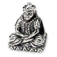 Sterling Silver Reflections Buddha Bead