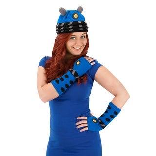 Doctor Who Blue Adult Costume Dalek Beanie Hat