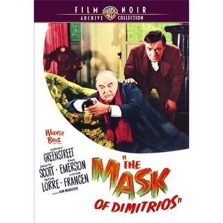 Mask Of Dimitrios, The DVD Movie 1944