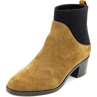 Via Spiga Armel Women Round Toe Suede Brown Ankle Boot