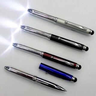 3-in-1 Stylus, Pen & LED Light Combo