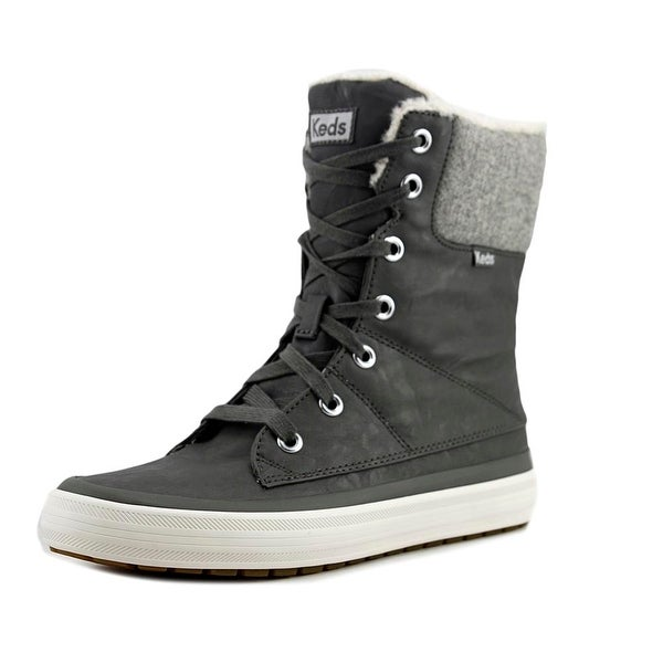 Keds Juliet Women Round Toe Synthetic Gray Winter Boot