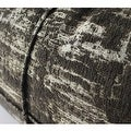 "G Home Collection Luxury Brown Mix Color Metallic Chenille Pillow 14""X20"" - Thumbnail 3"