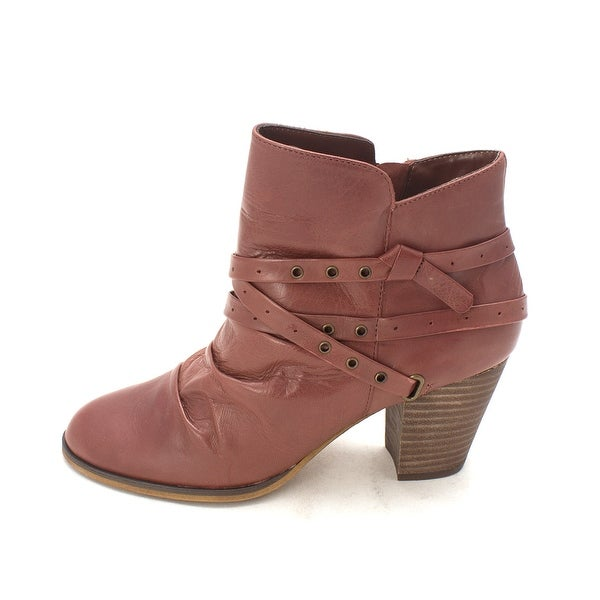 Bella Vita Womens Kiki Leather Closed Toe Ankle Fashion Boots - 7