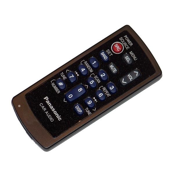 OEM Panasonic Remote Control Originally Shipped With: CQC5303U, CQ-C5303U, CQC5401U, CQ-C5401U, CQC5403U, CQ-C5403U
