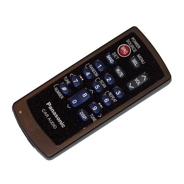 OEM Panasonic Remote Control Originally Shipped With: CQC7205U, CQ-C7205U, CQC7301U, CQ-C7301U, CQC7303U, CQ-C7303U