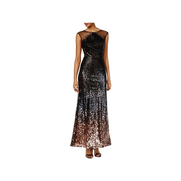 5112a7e4e52c9 Shop SLNY Womens Special Occasion Dress Sequined Sleeveless - 8 - Free  Shipping Today - Overstock - 22832469