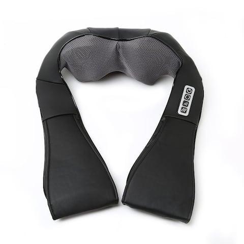 """16""""Household Shoulder and Neck Massage Cape Electric Shoulder Black"""