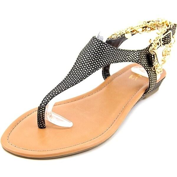 Thalia Sodi Womens Lara Split Toe Casual T-Strap Sandals