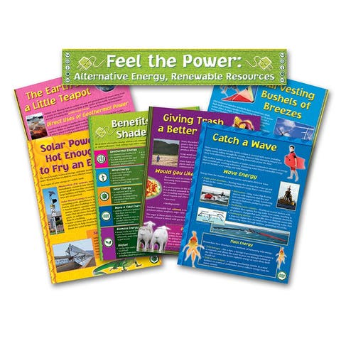 Alternative Energy Renewable Resource Bb Set