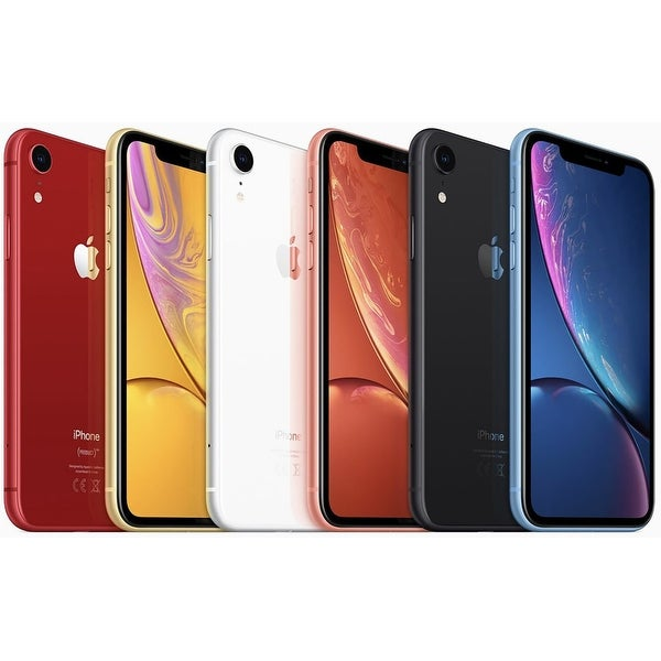 Apple iPhone XR 64GB Fully Unlocked (Verizon + Sprint + GSM Unlocked). Opens flyout.