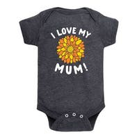 I Love My Mum - Infant One Piece