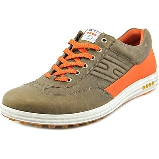 Ecco Street Evo One Round Toe Leather Golf Shoe