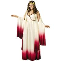 Fun World Venus Goddess of Love Plus Size Costume - White/Red - plus size