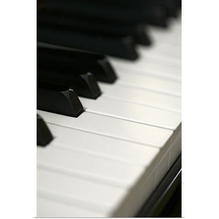 """Close up of piano"" Poster Print"