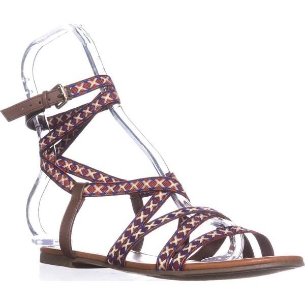 Indigo Rd. Camryn Flat Casual Sandals, Natural Multi