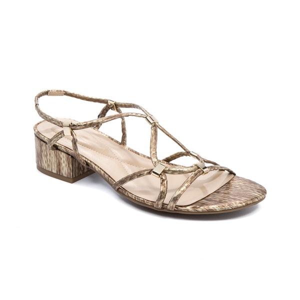 Andrew Geller Kernie Women's Sandals & Flip Flops Gold