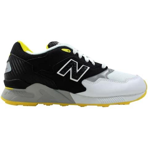 New Balance 878 White/black-yellow ML878SPB Men's