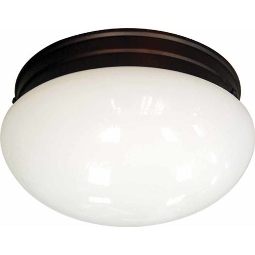 "Volume Lighting V7006 1 Light 7"" Width Flush Mount Ceiling Fixture"