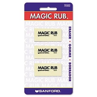 Sanford 70503 MAGIC RUB Art Eraser- 3/Pack