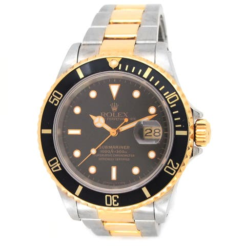 Pre-owned 40mm Rolex Two-tone Submariner