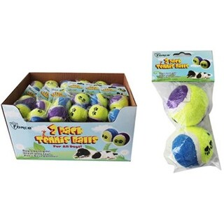DDI 1980804 Dog Toy Tennis Balls - 2 Pack Case of 36