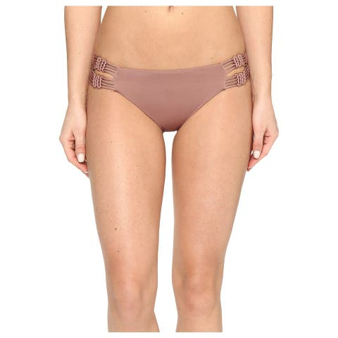 Dolce Vita Womens Large Macrame Bikini Bottom Swimsuit