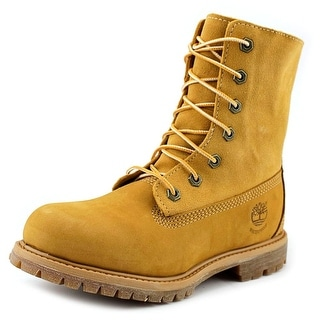 Timberland Authentic Teddy Fleece Round Toe Leather Boot