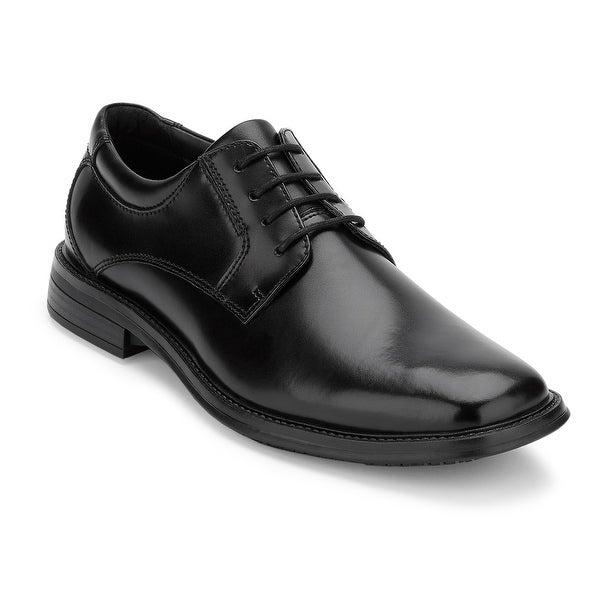 Dockers Mens Sansome Leather Slip Resistant Work Dress Oxford Shoe