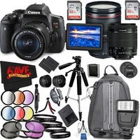 Canon EOS Rebel T6i DSLR Camera with 18-55mm Lens (Intl Model) and Canon EF 24-105mm f/4L IS II USM Lens