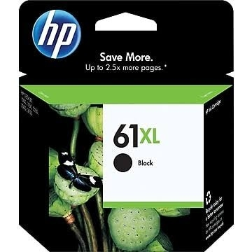 HP 61XL Black High Yield Original Ink Cartridge CH563WN