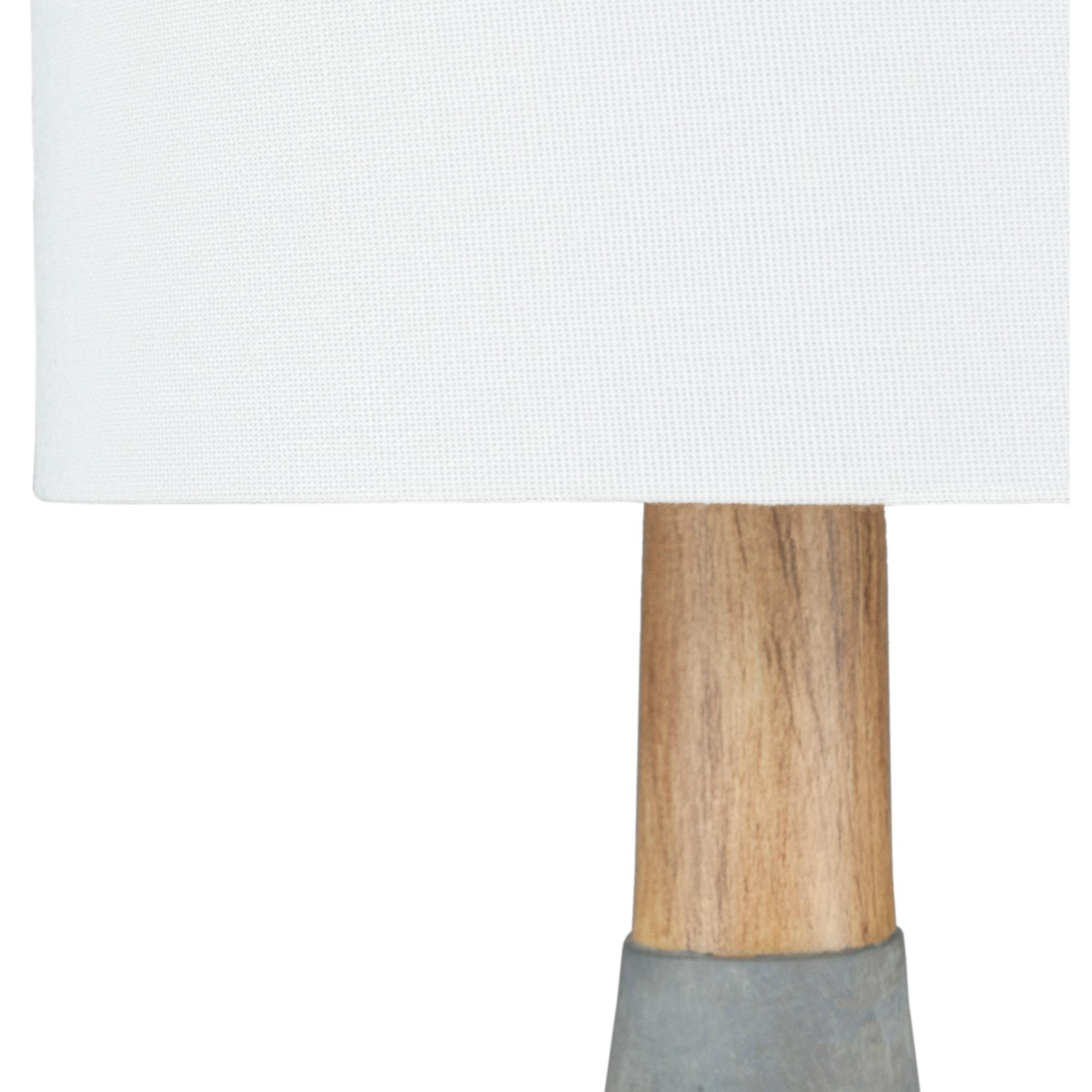 Shop Hadrian Denim Blue Modern Table Lamp On Sale Overstock 22996894