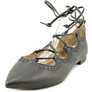 Easy Spirit Capriana Women Pointed Toe Synthetic Black Flats