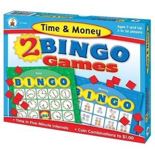 Time & Money Bingo