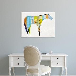 Easy Art Prints Anthony Grant's 'Horse No. 27' Premium Canvas Art
