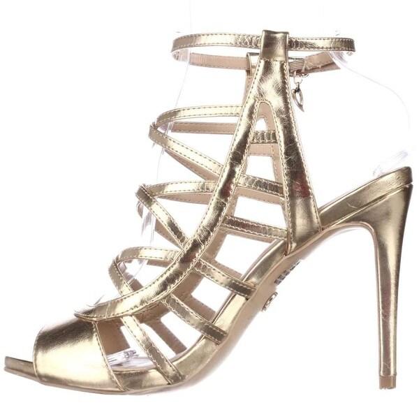 Thalia Sodi Womens Clarisa Open Toe Special Occasion Strappy Sandals
