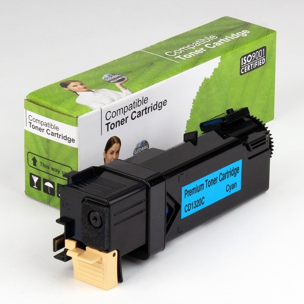 Value Brand replacement for Dell 1320C Cyan Toner (2,000 Yield)