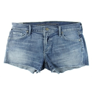 Citizens of Humanity Womens Ava Echo Wash Cutoff Denim Shorts - 31