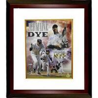 Jermaine Dye signed Chicago White Sox 16x20 Custom Framed World Series Collage Photo 05 WS MVP