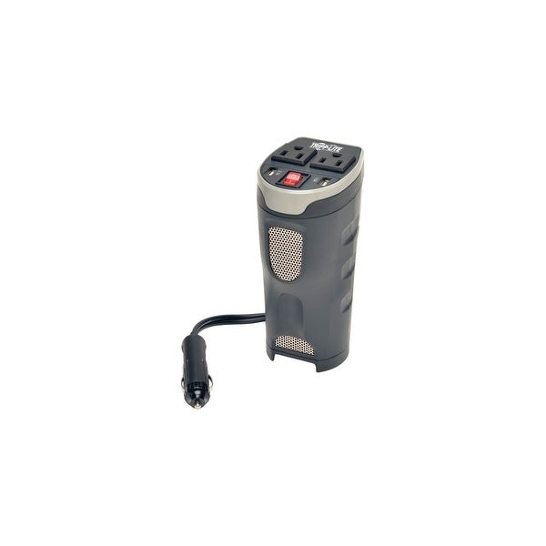 Tripp Lite PV200CUSB Tripp Lite PowerVerter Compact Car Power Inverter Cup Holder - Input Voltage: 12 V DC - Output Voltage: 120. Opens flyout.